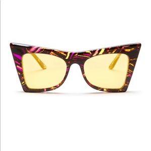 Wildfox ivy deluxe cat eye sunglasses